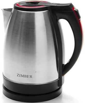 Чайник Zimber MB-11067-ZM 1500 Вт серебристый чёрный 1.8 л нержавеющая сталь