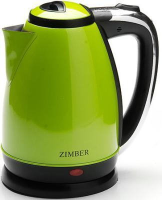 Чайник Zimber 10761-ZM 1500 Вт зелёный 1.8 л нержавеющая сталь