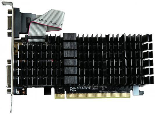 Видеокарта 2048Mb Gigabyte GT710 PCI-E GDDR3 GV-N710SL-2GL V2.0 Retail