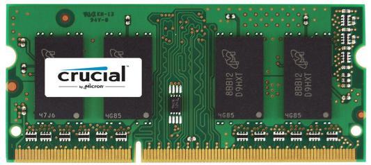Оперативная память для ноутбуков SO-DDR4 4Gb PC4-14900 1866MHz Crucial CT51264BF186DJ