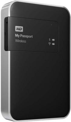 "Внешний жесткий диск 2.5"" USB3.0 2 Tb Western Digital My Passport Wireless WDBP2P0020BBK-EESN черный"