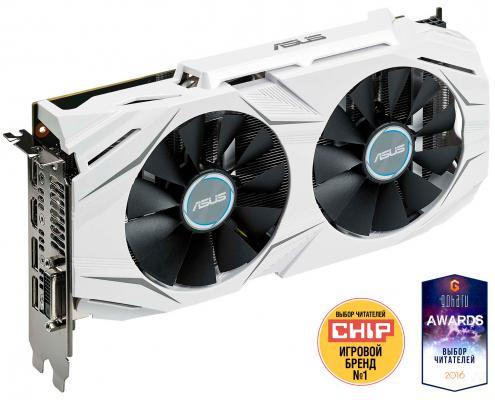 Видеокарта 4096Mb ASUS RX 480 PCI-E DUAL-RX480-4G Retail