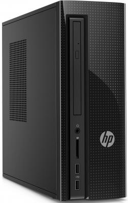 Системный блок HP 260 260-a102ur E2-7110 1.8GHz 4Gb 500Gb Radeon R2 DVD-RW Win10 клавиатура мышь черный Z0J78EA ноутбук hp 15 bs027ur 1zj93ea core i3 6006u 4gb 500gb 15 6 dvd dos black