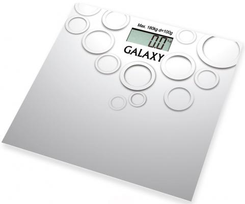 Весы напольные GALAXY GL4806 серый весы galaxy gl4806