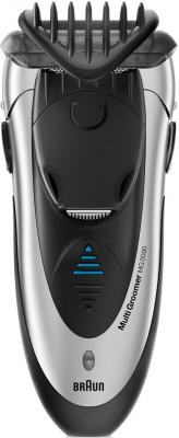 Бритва Braun MG5090 чёрный серебристый бритва braun mobileshave m60r серебристый синий