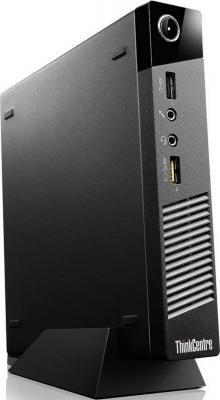 Неттоп Lenovo ThinkCentre M53 Tiny Intel Celeron-J1800 4Gb 500Gb Intel HD Graphics DOS черный 10DES00D00