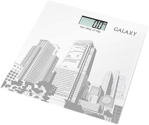 Весы напольные GALAXY GL4803 белый
