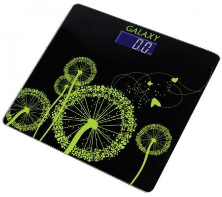 Весы напольные GALAXY GL4802 чёрный весы напольные galaxy gl4850