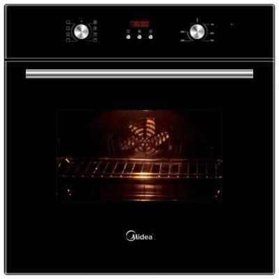 Электрический шкаф Midea 65DEE30004 черный электрический шкаф midea 65dee30006 серебристый