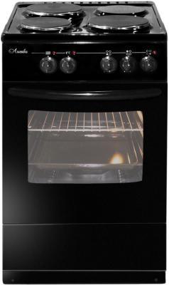 Электрическая плита Лысьва ЭП 301 М2С черный электрическая плита лысьва эп 301 м2с эмаль белый
