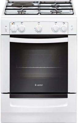Комбинированная плита Gefest 6110-01 0001 белый комбинированная плита gefest пгэ 6102 02 0001