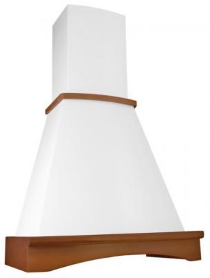 Вытяжка каминная Elikor Ротонда 50П-650-П3Л бежевый бук орех