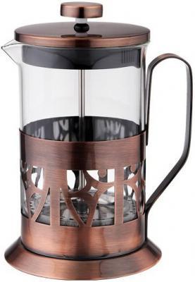 Френч-пресс Tima FA 600 медный 0.6 л металл/стекло