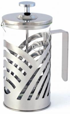 Френч-пресс Tima FB 600 серебристый 0.6 л стекло