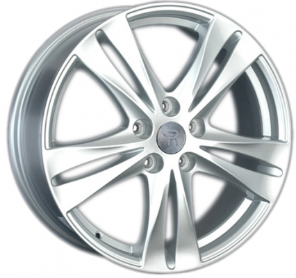 Диск Replay TY154 7xR17 5x114.3 мм ET45 Silver