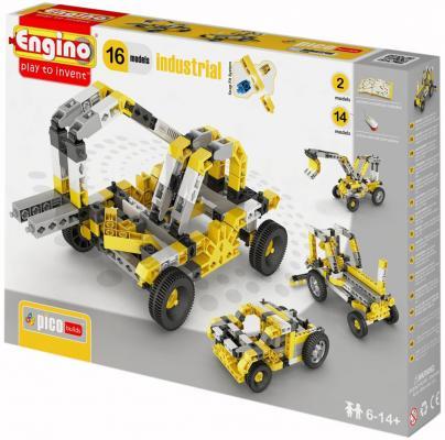 Конструктор Engino Inventor: Спецтехника 145 элементов PB44 конструктор игровой для ребенка engino pico builds inventor pb14 спецтехника
