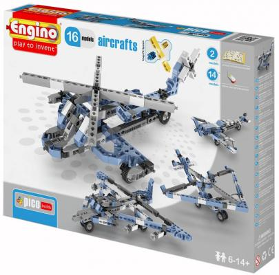 Конструктор Engino Inventor: Самолеты 140 элементов PB43 engino конструктор inventor самолеты 4 модели