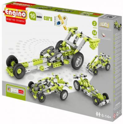 Конструктор ENGINO Inventor: Автомобили 143 элемента 1631 конструкторы engino алекс приключения во времени открывая автомобили