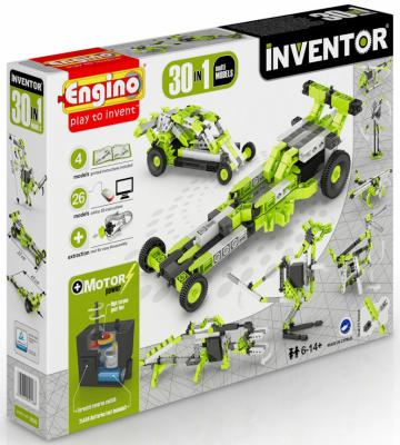 Купить Конструктор Engino Inventor 120 элементов 3030 с мотором, Пластмассовые конструкторы