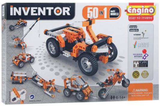 купить Конструктор Engino Inventor 158 элементов 5030 с мотором недорого