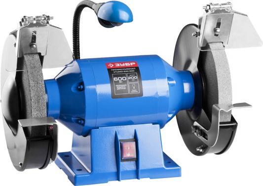 Станок точильный Зубр Профессионал ЗТШМЭ-200-600 200 мм точильный станок зубр зтшмэ 150 350