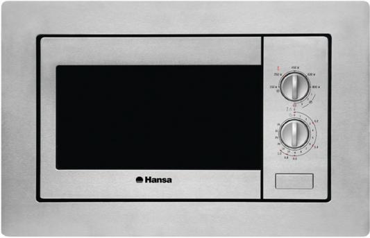 цена на СВЧ Hansa AMM20BMXH 800 Вт серебристый