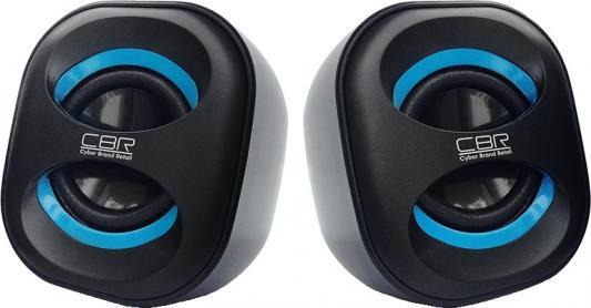Колонки CBR CMS 333 2x3 Вт черно-синий