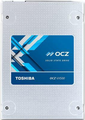 Твердотельный накопитель SSD 2.5 1Tb OCZ Toshiba Read 550Mb/s Write 515Mb/s SATAIII VX500-25SAT3-1T твердотельный накопитель ssd m 2 64gb transcend mts600 read 560mb s write 310mb s sataiii ts64gmts600