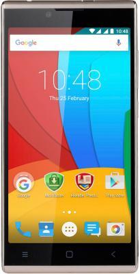 "Смартфон Prestigio Grace Q5 золотистый 5"" 8 Гб Wi-Fi GPS 3G PSP5506DUOGOLD"