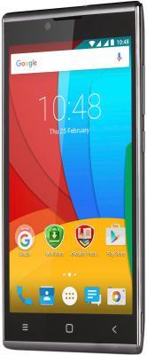 "Смартфон Prestigio Grace Q54 серый 5"" 8 Гб Wi-Fi GPS 3G PSP5506DUOGREY"