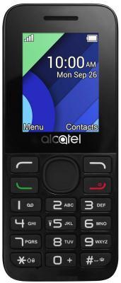 """Мобильный телефон Alcatel 1054D темно-серый 1.8"""" 4 Мб"""