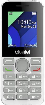 """Мобильный телефон Alcatel 1054D белый 1.8"""" 4 Мб"""