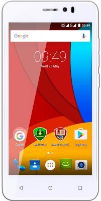 "Смартфон Prestigio Muze K5 серый белый 5"" 8 Гб LTE Wi-Fi GPS 3G PSP5509DUOWHITE"