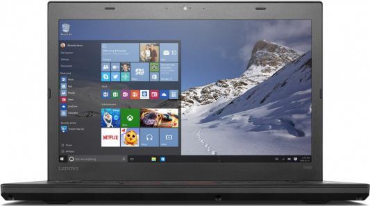 """Ноутбук Lenovo ThinkPad T460 14"""" 1920x1080 Intel Core i5-6200U 20FN004CRT"""