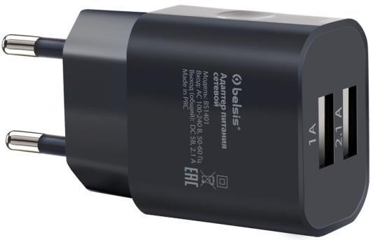 Сетевое зарядное устройство Bliss BS1401 2.1A черный топ urban bliss urban bliss ur007ewiue45