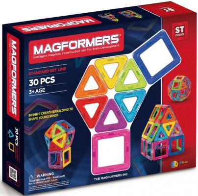 Магнитный конструктор Magformers 63076/701005 30 элементов магнитный конструктор magformers space treveller set 35 элементов 703007