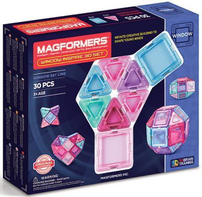 Магнитный конструктор Magformers Window Inspire 30 элементов 714004 магнитный конструктор magformers space treveller set 35 элементов 703007