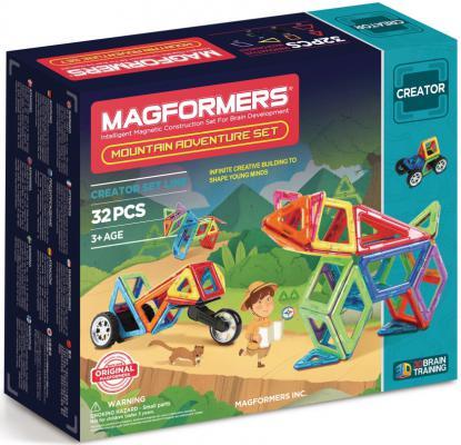 Магнитный конструктор Magformers Adventure Mountain 32 элемента 703011 цена