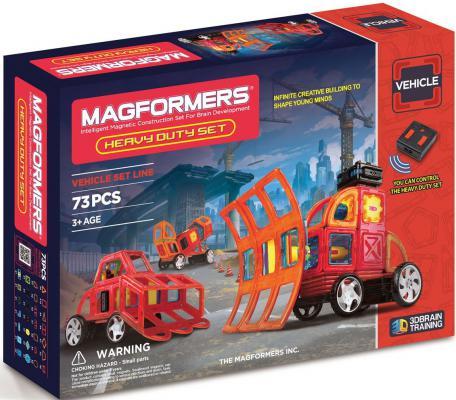 Магнитный конструктор Magformers Heavy Duty Set 73 элемента 63139/707007 конструктор magformers heavy duty set 63139