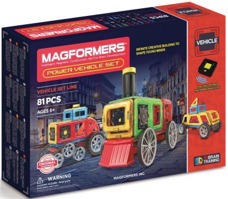 Магнитный конструктор Magformers Power Vehicle Set 81 элемент 707011