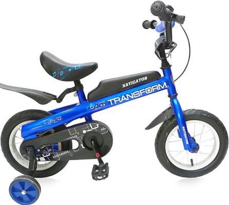 """Велосипед Навигатор Transform 12"""" синий 8887856917353"""