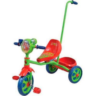 """Велосипед 1TOY Angry Birds Go 10""""/8"""" зеленый 8887856576598"""