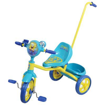 "Велосипед 1TOY Губка Боб 10""/8"" синий 8887856575751"