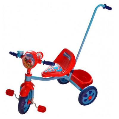 "Велосипед 1TOY Angry Birds 10""/8"" голубой 8887856568401"