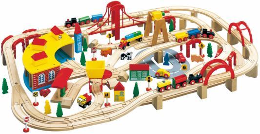 Конструктор BALBI Железная дорога, 145 деталей WT-226 balbi железная дорога 145 деталей