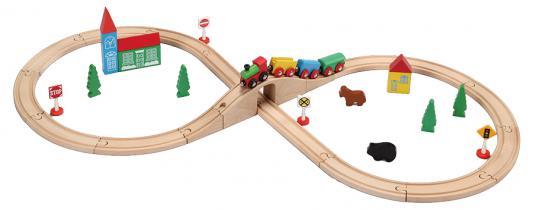 Конструктор BALBI Железная дорога, 37 деталей WT-049