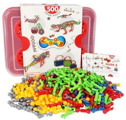 Конструктор ZOOB Sparkle 500 элементов конструктор zoob 11125 125