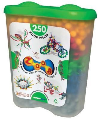 Конструктор ZOOB Sparkle 250 элементов игрушка zoob 500 11500