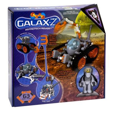 Конструктор ZOOB Sparkle GALAXY - Z Astrotech Rover 63 элемента