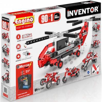 купить Конструктор ENGINO Inventor 218 элементов 9030 с мотором недорого